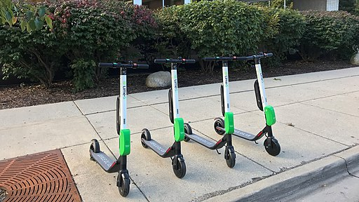 Lime-S Scooters