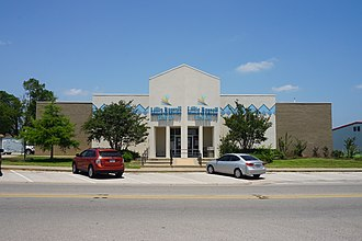 Lindale, Texas - Lillie Russell Memorial Library in Lindale