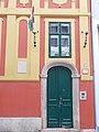 Listed house. Portal. - 20 Szalag Street, Budapest.JPG