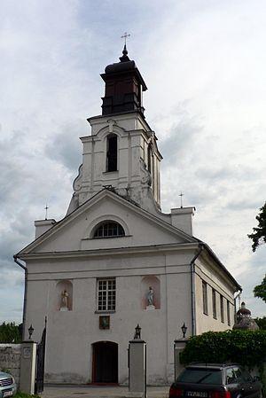 Užupis - St. Bartholomew Church in Užupis