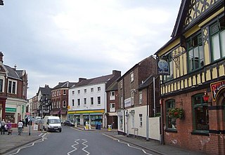 Newcastle-under-Lyme market town in Staffordshire, England