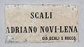 Livorno Scali Adriano Novi Lena street sign 01.JPG