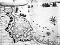 Livorno map of the town (1696) by Cornelius Meyer 01.jpg