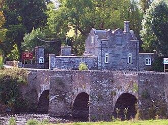 Llechryd - Image: Llechryd Bridge River Reifi Castell Malgwyn
