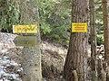 Lobnighof Betreten verboten Wanderweg.jpg