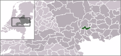 Location of Angerlo as municipality until 2005