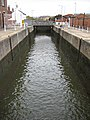 Lock from the Main Basin, Gloucester Docks - geograph.org.uk - 1013580.jpg