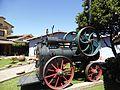 Locomóvil Ransomes, maquinaria agrícola, en el Museo de Colchagua, Santa Cruz, Chile.jpg