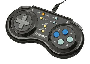 SONIFI Solutions - One of the two versions of the Super Nintendo LodgeNet controller.