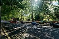 London - Bayswater Road - View ESE on Sunday Morning Art Fair along Hyde Park Fence.jpg