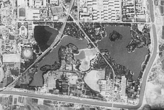 Longtan Lake Park - Satellite image of Longtan Park. (1967-09-20)