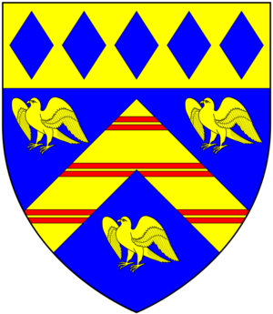 Henry Lopes, 1st Baron Roborough - Image: Lopes Arms