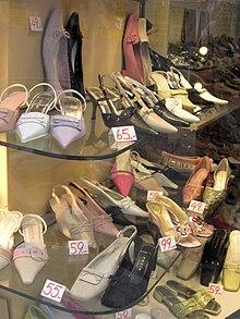 45124facf4b734 Chaussure — Wikipédia