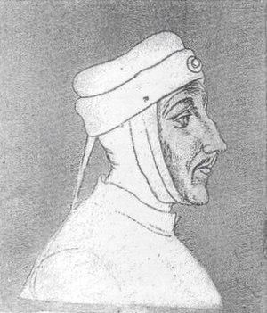 Louis II, Count of Flanders - Contemporary portrait