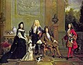 Louis XIV of France and his family attributed to Nicolas de Largillière.jpg