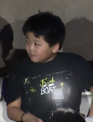 Hudson Yang - Yang at a panel discussion for Fresh off the Boat, February 5, 2015