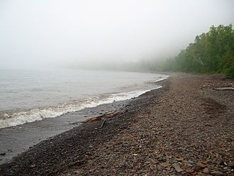 Climate of Minnesota - The cool air near Lake Superior makes fog a frequent occurrence near the shore.