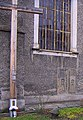 Lubawka, kościół pw. Wniebowzięcia NMP, krzyż misyjny, XVII-wieczne epitafia PICT9379.JPG