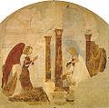 Luca signorelli (attr. incerta), annunciazione, san francesco, arezzo.jpg