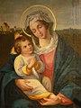 Ludwig Eugen Mayle - Madonna mit Kind in der Schlosskapelle Hirschbrunn 1838.jpg