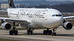 Lufthansa (Star Alliance livery) Airbus A340-300 (D-AIFF) at Frankfurt Airport.jpg
