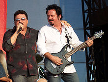 Lukather and Kimball live in 2007