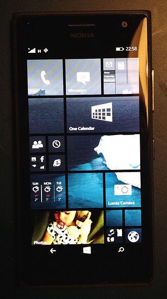 Nokia Lumia 735 - Image: Lumia 735