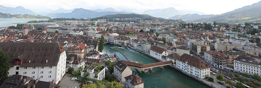 Panoramic view of Lucerne