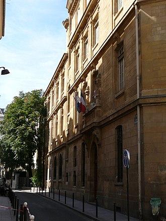 Lycée Fénelon, Paris - Image: Lycée Fénelon (Paris) bâtiment principal