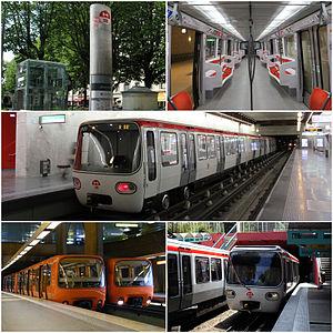 Lyon Metro - Image: Lyon Metro Mosaic