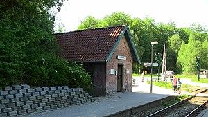 Gribskov - Image: Mårum Station