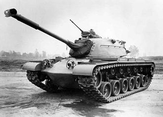 Medium tank - M48A1 Patton American medium tank