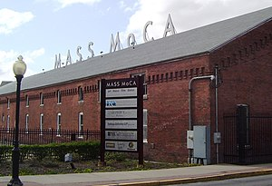 North Adams, Massachusetts - The Massachusetts Museum of Contemporary Art (MASS MoCA), formerly the Arnold Print Works and a facility of Sprague Electronics