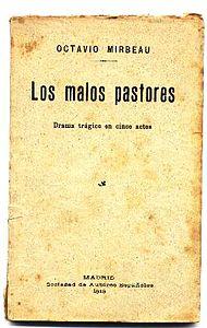 Los malos pastores, 1913.