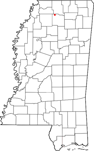 Harmontown, Mississippi - Location of Harmontown, Mississippi