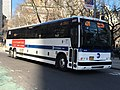 MTA NYC Bus X28 bus on Broadway.jpg