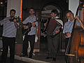 Macedonian folk music at our hotel, Lake Ohrid.jpg