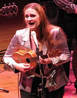 Madeleine Peyroux American jazz musician