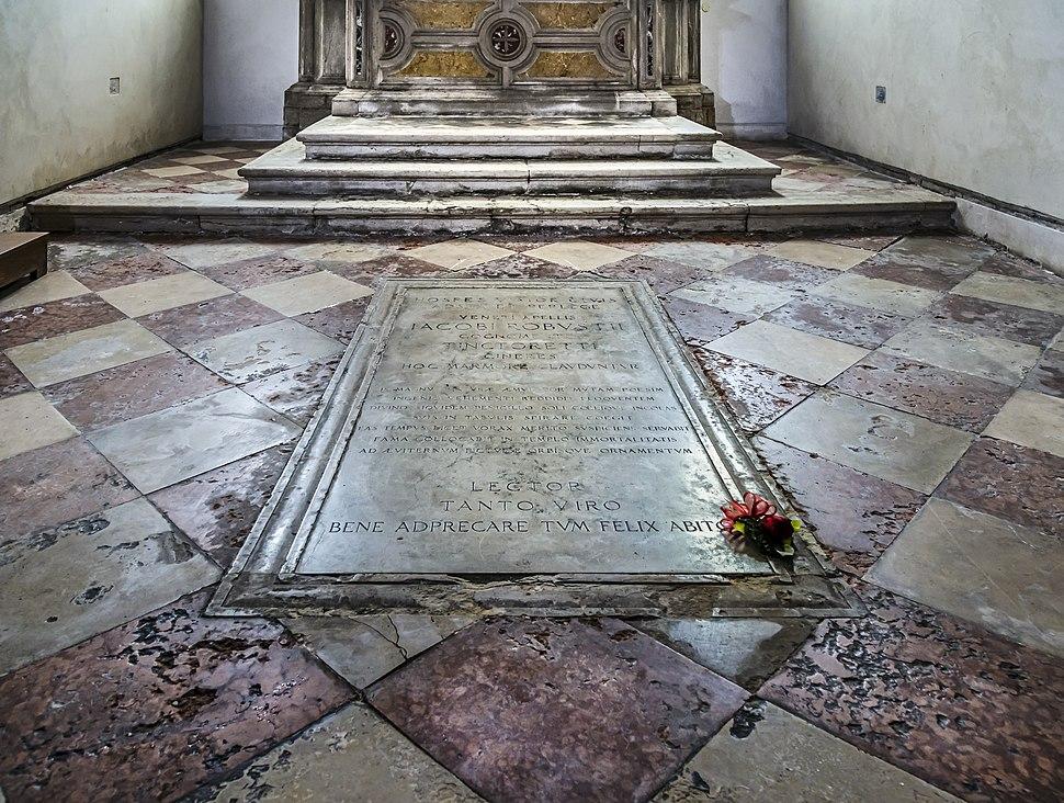 Madonna dell'Orto (Venice) - Tintoretto's tombe