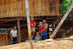 Mae La refugee camp in Thailand, home to aroun...