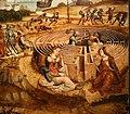 Maestro dei cassoni campana, teseo e il minotauro, 1510-15 ca. (avignone, petit palais) 10 labirinto.jpg