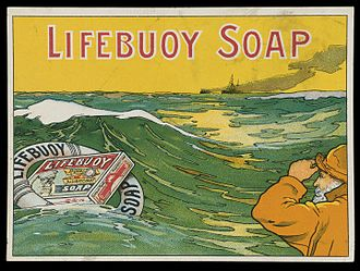 Lifebuoy (soap) - Magazine insert advertising Lifebuoy soap