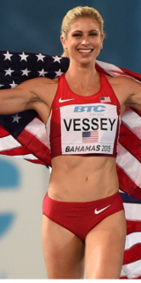 Maggie Vessey American middle-distance runner