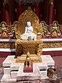 Mangala (one of the nine major astronomical bodies) in Buddha Dhatu Jadi, Bandarban 01.jpg
