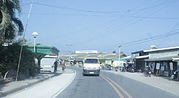 Mansalay road and public market.jpg