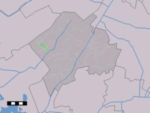 Frederiksoord - Image: Map NL Westerveld Frederiksoord