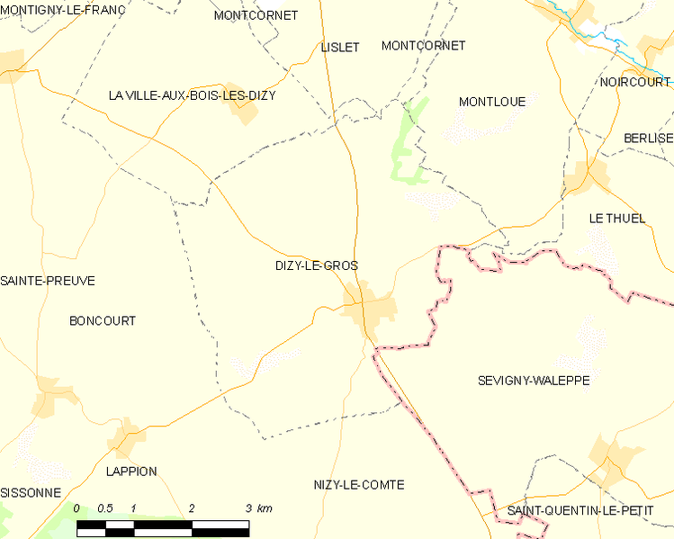 Fil:Map commune FR insee code 02264.png