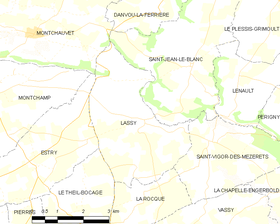 Map commune FR insee code 14357.png