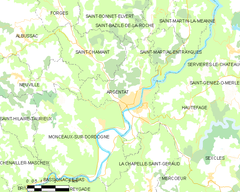 Map commune FR insee code 19010.png