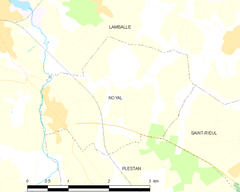 Map commune FR insee code 22160.png